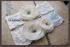 Wedding Garter, Bridal Garter, Keep and Toss Garters, lace garter, vintage inspired garter,Wedding accessories, Bridal accessories, garter