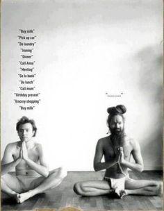 Na Terra dos Budas Trabalhe no autocontrole de seus pensamentos,  alimente o silencio interno, focalize sua consciência.  E veja DEUS se aproximar..