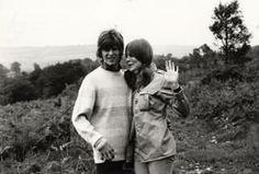 David Bowie and Hermione Farthingale 60s.