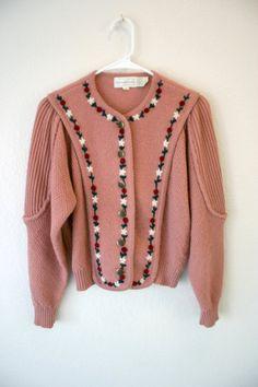 Vintage Knit Wool Sweater