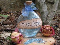 Fairy Godmother Wishes Bottle by wanderingmermaid on Etsy, $12.95