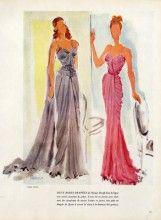 Maggy Rouff 1946 Evening Gown, Reinoso