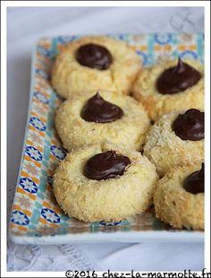 Volcans à la noix de coco (Défi culinaire # 12)   Marmotte cuisine !
