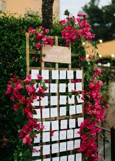 Great Balls Of Fire! Nope Just This Glowing Spanish Garden Wedding! Big balls of fire! No, just this bright Spanish garden wedding! Seating Plan Wedding, Outdoor Wedding Venues, Wedding Table, Reception Seating, Seating Plans, Outdoor Seating, Bougainvillea Wedding, Floral Wedding, Wedding Flowers