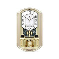 壁掛け時計 音楽で報時 壁時計 アンティーク 2色