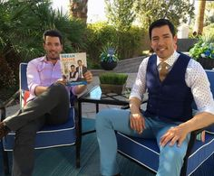 The Scott Brothers - Jonathan Scott, Drew Scott, Scott Brothers, It Takes Two, Family Set, Property Brothers, The Brethren, Book Signing, Man Alive