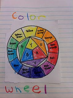 Colors - ideas on how to teach colors for a bit older kids
