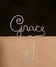 Hey, I found this really awesome Etsy listing at https://www.etsy.com/listing/243892870/grace-wire-bookmark-paperclip