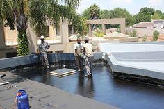 Tremco is a waterproofing contractor. Waterproofing done in Gauteng on concrete slabs.