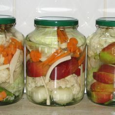 Tasty, Yummy Food, Pickles, Cucumber, Mason Jars, Food And Drink, Mai, Stuffed Peppers, Canning