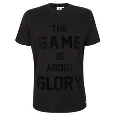 Spurs Mens The Game is About Glory T-shirt   Official Spurs Shop