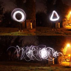 Some basic light trail blazers I did a while back, still getting the hang of using my camera. Light Trails, Trail Blazers, Neon Signs