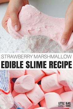 Need a taste safe slime recipe? Learn how to make the best edible marshmallow slime. Check out how we make slime with marshmallows and powdered sugar. Slime Craft, Diy Slime, Sand Slime, Chocolate Slime, Chocolate Truffles, Chocolate Brownies, Cool Slime Recipes, Edible Slime, Diy