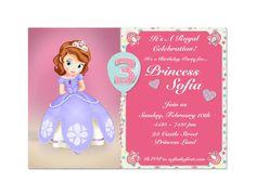 Princess Sofia Invite