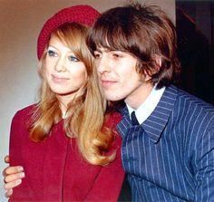 Patti Boyd and George Harrison