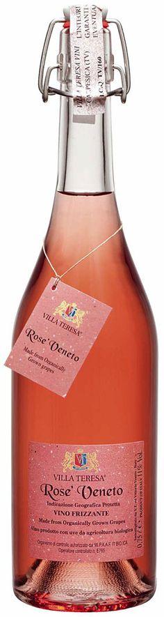Drink Pink! Organic!   Fantastisch fruchtiger Frizzante aus Raboso, mit kräftigem Aroma von wilden Erdbeeren und etwas Himbeere. Tolle intensive Rosèfarbe (pink!). Frisch und angenehm, nicht zu trocken.
