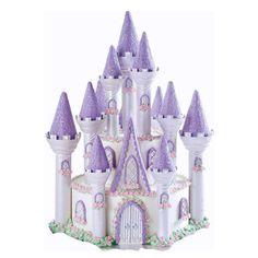 Princess Castle Cake | How to Make a Princess Castle Cake