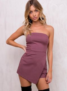 Find a cute new Playsuit from Princess Polly! Your go-to for the latest in women's fashion. Buy now, pay later with Afterpay. Playsuit Romper, Strapless Dress Formal, Dresses Online Australia, Online Fashion Boutique, Princess Polly, Rompers Women, Evening Dresses, Women's Dresses
