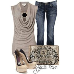 REALLY LOVETHIS OUTFIT ALTHOUGH IT WOULD SHOW MY BELLY. ID STILL TRY IT