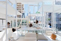 Interior Design Magazine: Sou Fujimoto Architects. A Tokyo house. Photography by Iwan Baan. #InteriorDesignMagazine #InteriorDesign #design #home #Tokyo #space