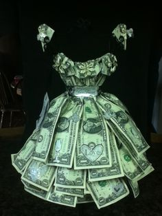 A money wedding dress.... Great for any wedding