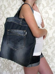 ¡A reciclar jeans viejos!