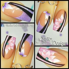 Fantastic Images Toe Nail Art daisy Popular Typically any time we believe connected with feet, we believe they're dirty and positively not the Fingernail Designs, Diy Nail Designs, Acrylic Nail Designs, Acrylic Nails, Toe Nail Art, Toe Nails, Purple Nails, Glitter Nails, Gel Nails French