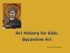 As a part of our Art History for Kids: Byzantine Art, we will talk about the arts in Constantinople, included architecture, painting, mosaic and many other art expressions.