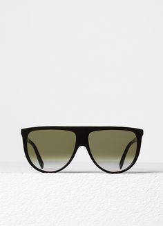 f69132fcdad6 Thin Shadow Sunglasses in Acetate - Spring   Summer Runway 2017