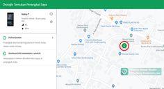 Cara paling mudah melacak hp hilang, menemukan lokasinya tanpa aplikasi hanya menggunakan google, bisa kunci dan hapus data jarak jauh Android Tricks, Map, Google, Location Map, Maps