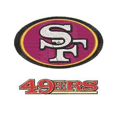 san francisco 49ers logo embroidery - Digital Designs Embroidery