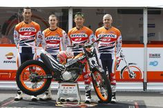 Takahisa Fujinami and crew