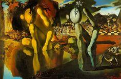 """Salvador Dalí """"Metamorphosis of Narcissus"""