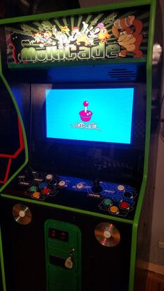 n2o1gaming's Multi-Cade Powered by Raspberry Pi: because everyone needs their own retro-style arcade cabinet.
