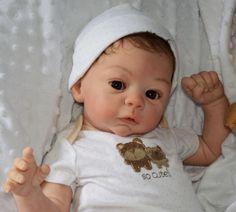 Reborn Laura Tuzio Ross Harlow Now Precious Boy Baby Harper | eBay