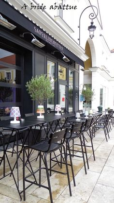 Terrasse du Saperlipopette, le bistrot chic du chef Norbert TARAYRE, Paris…
