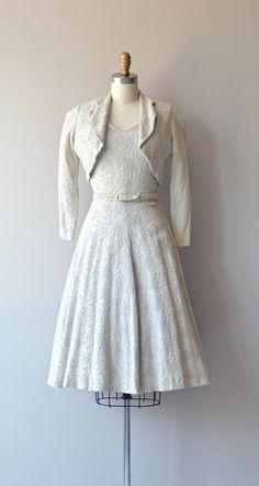 Softer Still dress vintage 1950s dress cotton by DearGolden
