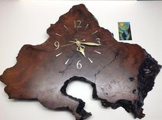 redwood burl clock - Google Search