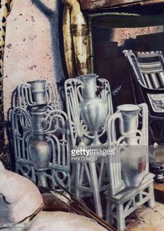 Alabaster vases Tutankhamun's tomb Egypt 19331934 The discovery of Tutankhamun's tomb in 1922 by British archaeologist Howard Carter was one of the most astounding discoveries in archaeology...