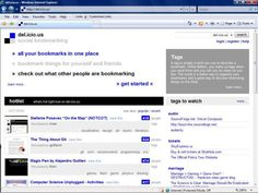 Social Bookmarking 101 - What is Social Bookmarking and How Can It Help Me?: Del.icio.us is the most popular social bookmarking website.  (Image of Del.icio.us)