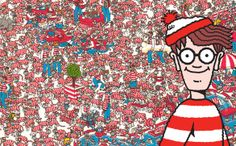 Where's Wally Best Memories, Childhood Memories, Ou Est Charlie, Wheres Wally, Book Week, Fun Activities For Kids, Where Is Waldo, Early Childhood, Gift Tags