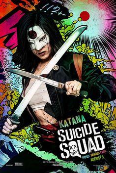 Suicide Squad posters : Karen Fukuhara est Katana