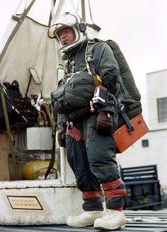 Joe Kittinger's pressure suit (1960)