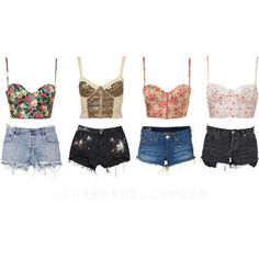 Also obsessed with bustier tops