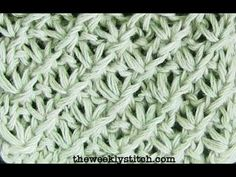 How to knit the Daisy Stitch. You will need to know how to knit, purl, purl 3 together and make a yarn over for this stitch. For written instructions and mor...