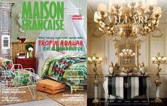 VILLARI for the magazine MAISON FRANCAISE in july 2014