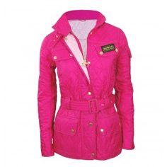 Black Friday|ladies pink quilted barbour jacket ladies