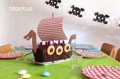 Wikinger-Schiff-Kuchen