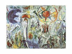 Marc Chagall - La Vie (1964)