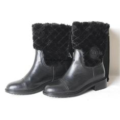Chanel 2015 new style leather Boots CB060